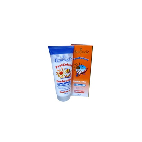 Leche Solar Infantil SPF30 fleurymer