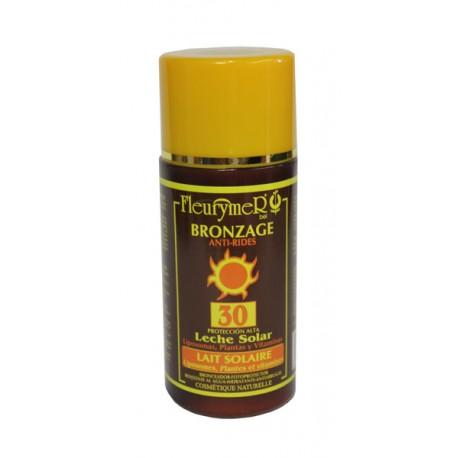 Leche Solar SPF30 tubular fleurymer