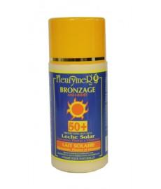 Leche Solar SPF50+ tubular fleurymer