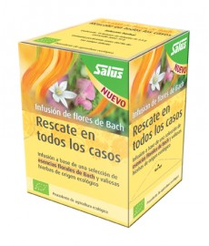 Flores de Bach infusión bio Rescate