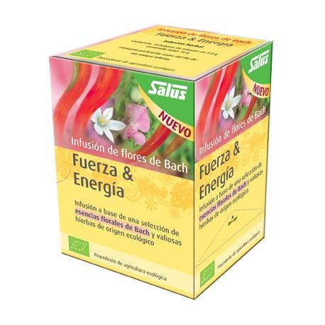 Flores de Bach infusión bio Fuerza & Energia