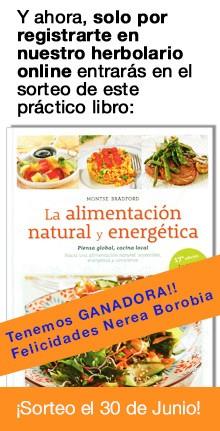 Sorteo libro: La alimentación natural y energética
